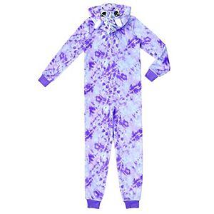 Girls 4-16 Jellifish Character Sleeper Pajamas