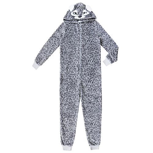 Girls 4-16 Jellifish Character Sleeper Pajamas