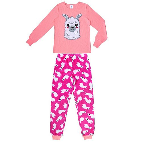 Girls 4-16 Jellifish 2-Piece Pajama Set