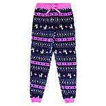 Girls 4-16 Jellifish Festive Pattern Sleep Pants