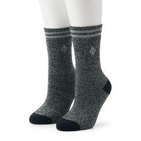 Women's Columbia 2 Pack Midweight Thermal Socks