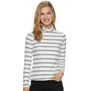 Women's Apt. 9® Long Sleeve Turtleneck
