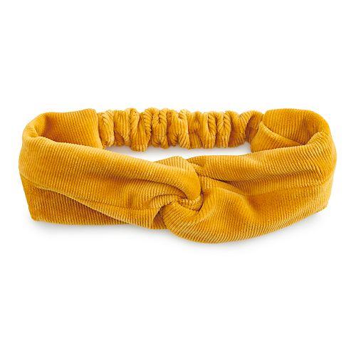 SO® Velvet Knot Headwrap