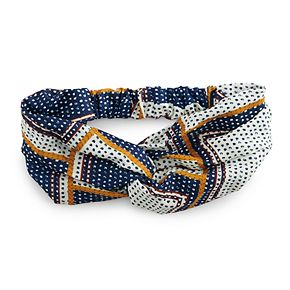SO® Printed Knot Headwrap