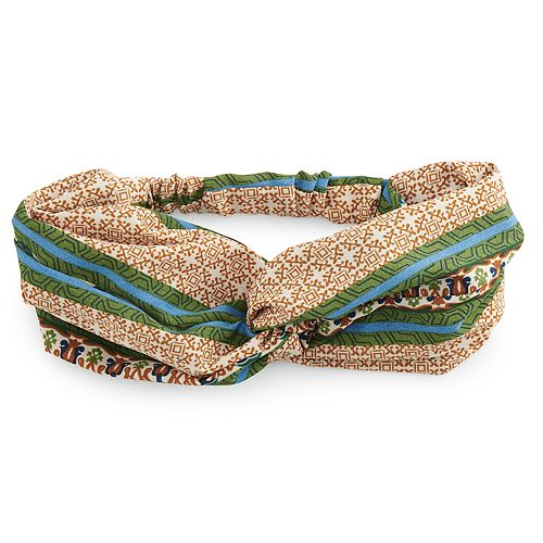 SO® Double Layer Twisted Head Wrap