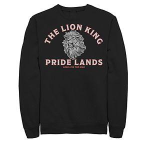 Juniors' Disney's The Lion King Pride Lands Logo Fleece Sweater