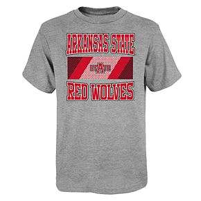 Boys 4-20 Arkansas State Red Wolves College Team Pride Tee