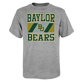 "Boy's 4-20 NCAA Baylor Bears ""College Team Pride"" Short Sleeve Tee"