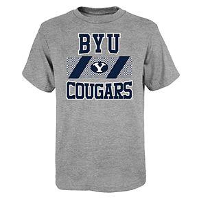 "Boy's 4-20 NCAA BYU Cougars ""College Team Pride"" Short Sleeve Tee"