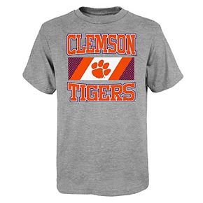 Boys 4-20 Clemson Tigers College Team Pride Tee