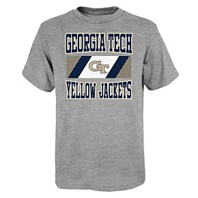 "Boy's 4-20 NCAA Georgia Tech Yellow Jackets ""College Team Pride"" Short Sleeve Tee"