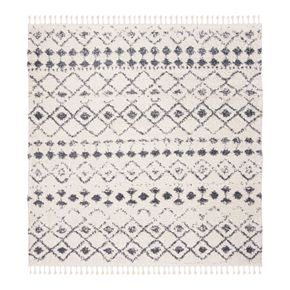 Safavieh Berber Olivia Rug Cream/Dark Gray