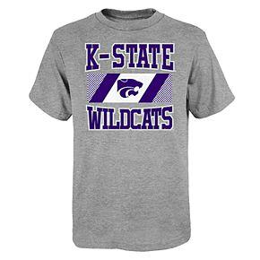 "Boy's 4-20 NCAA Kansas State Wildcats ""College Team Pride"" Short Sleeve Tee"