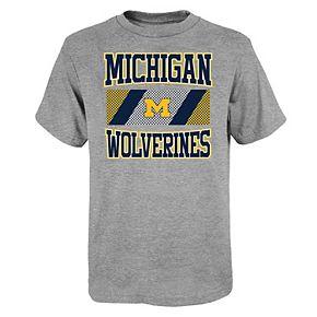 Boys 4-20 Michigan Wolverines Short Sleeve T-shirt