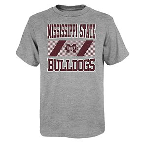 """Boy's 4-20 NCAA Mississippi State Bulldogs """"College Team Pride"""" Short Sleeve Tee"""