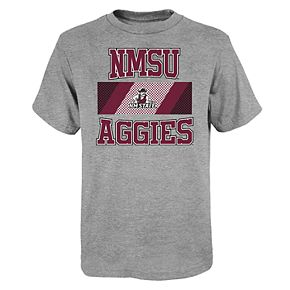 """Boy's 4-20 NCAA New Mexico State Aggies """"College Team Pride"""" Short Sleeve Tee"""