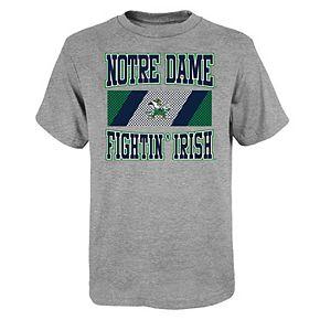 Boys 4-20 Notre Dame Fighting Irish Short Sleeve T-shirt