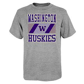 """Boy's 4-20 NCAA Washington Huskies """"College Team Pride"""" Short Sleeve Tee"""