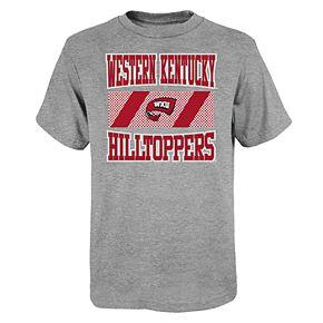 "Boy's 4-20 NCAA Western Kentucky Hilltoppers ""College Team Pride"" Short Sleeve Tee"