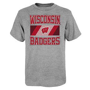 Boys 4-20 Wisconsin Badgers Short Sleeve T-shirt