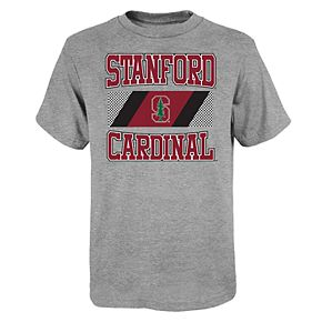 "Boy's 4-20 NCAA Stanford Cardinal ""College Team Pride"" Short Sleeve Tee"