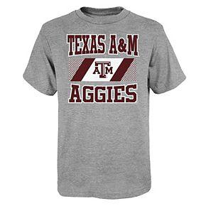 Boys 4-20 Texas A&M Aggies Short Sleeve T-shirt
