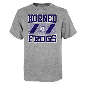 """Boy's 4-20 NCAA TCU Horned Frogs """"College Team Pride"""" Short Sleeve Tee"""