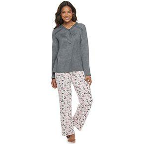 Women's Croft & Barrow® Pajama Tee & Pajama Pants Set