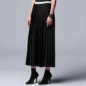 Women's Simply Vera Vera Wang Statement Pleated Skirt
