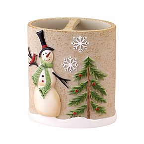 Avanti Tall snowmen Toothbrush Holder