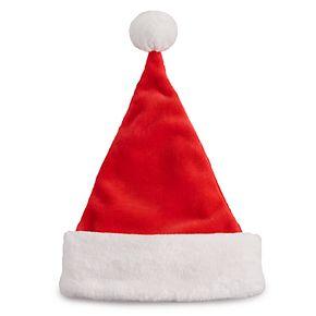 Men's Classic Plush Santa Hat