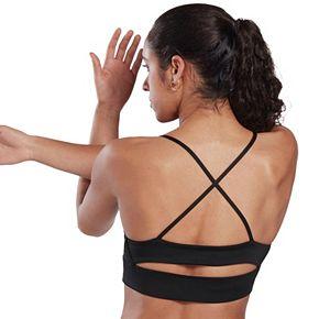 Women's Reebok Workout Tri-Back Low Impact Sports Bra