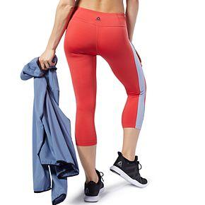 Women's Reebok Workout Ready Colorblock Capri