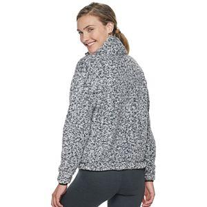 Juniors' SO® Sherpa 1/4-Zip Jacket