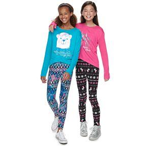 Girls 7-16 SO® Cozy Leggings