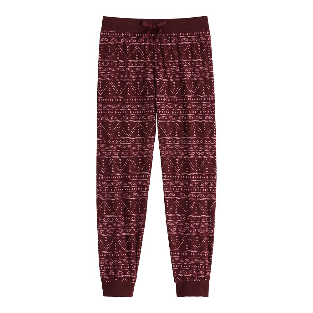 Girls' 7-16 Mudd® Printed Joggers