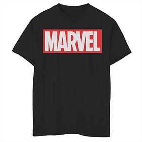 Boys' 8-20 Marvel Brick Tee