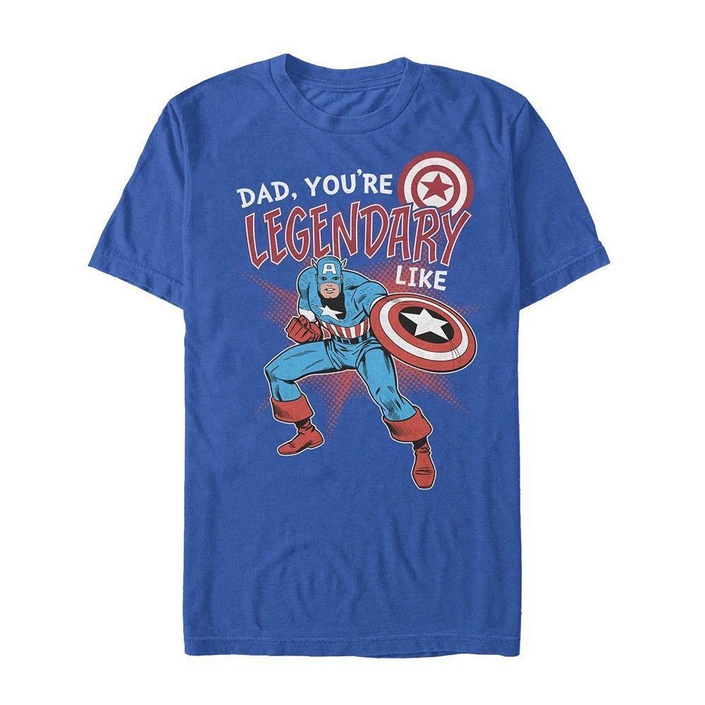 Boys' 8-20 Marvel Legendary Like Dad Tee