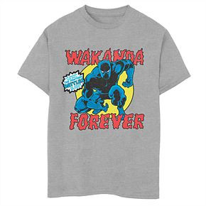 Boys' 8-20 Marvel Panther Battles Tee