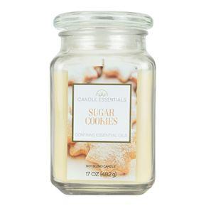 Candle Essentials Sugar Cookies 17-oz. Candle Jar