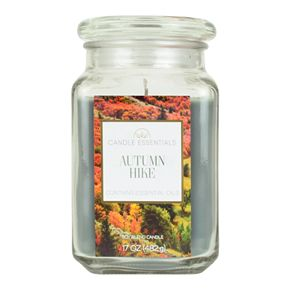 Candle Essentials Autumn Hike 17-oz. Candle Jar