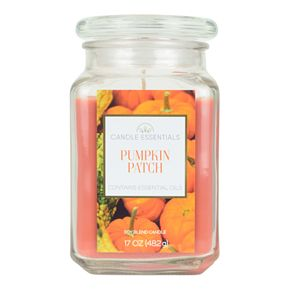Candle Essentials Pumpkin Patch 17-oz. Candle Jar