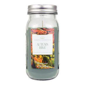 Candle Essentials Autumn Hike 16-oz. Mason Candle Jar