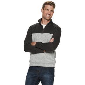 Men's SONOMA Goods for Life® 1/4 Zip Sweater Fleece