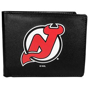 New Jersey Devils Logo Bi-Fold Wallet