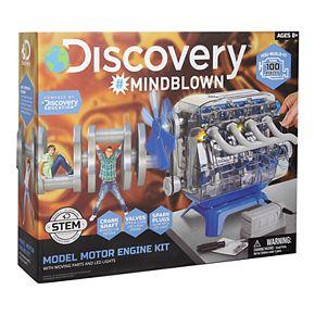 Discovery #Mindblown STEM Model Motor Engine Kit