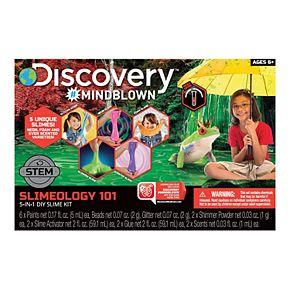 Discovery #Mindblown STEM Slimeology 101 5-in-1 DIY Slime Kit