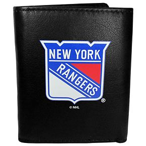 New York Rangers Leather Tri-Fold Wallet