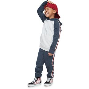 Boys 4-12 Jumping Beans® Taped Fleece Joggers