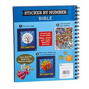 PIL Brain Games Sticker By Number Bible